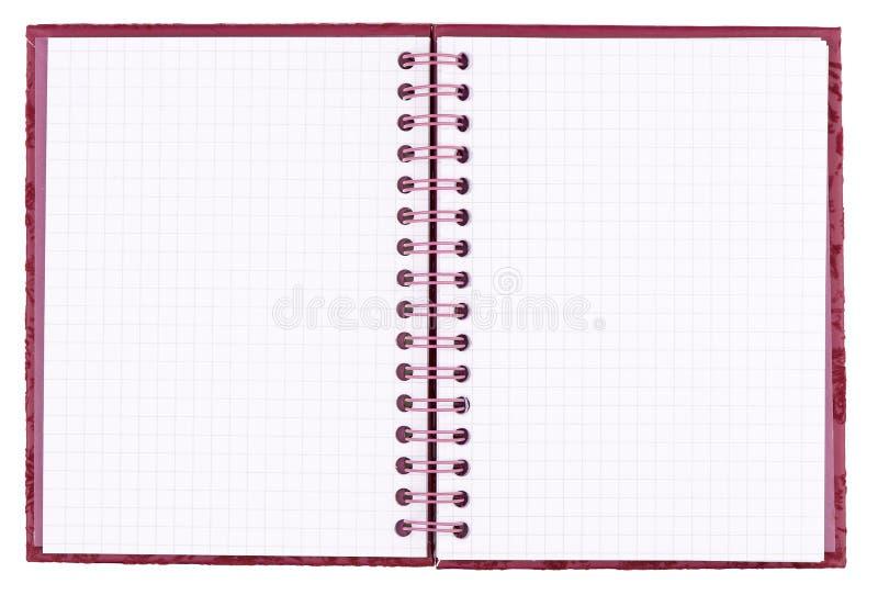 kvadrerad blank anteckningsbok stock illustrationer