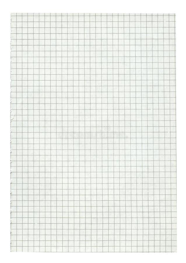 kvadrerade det paper formatet för sidan xxl arkivbilder