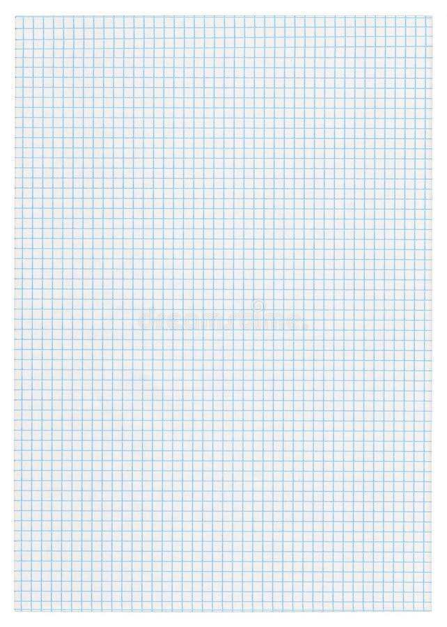 kvadrerat paper stycke arkivbilder