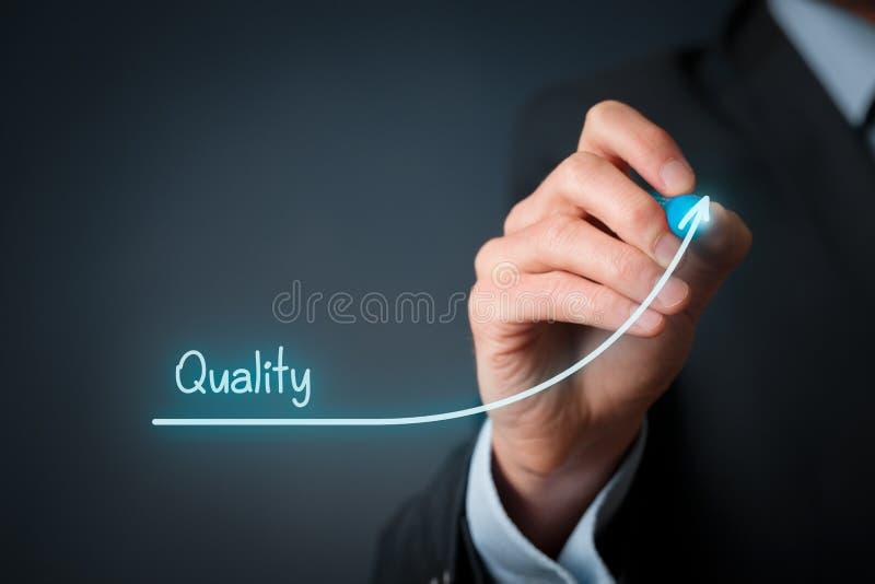 Kvalitet förbättrar royaltyfri foto