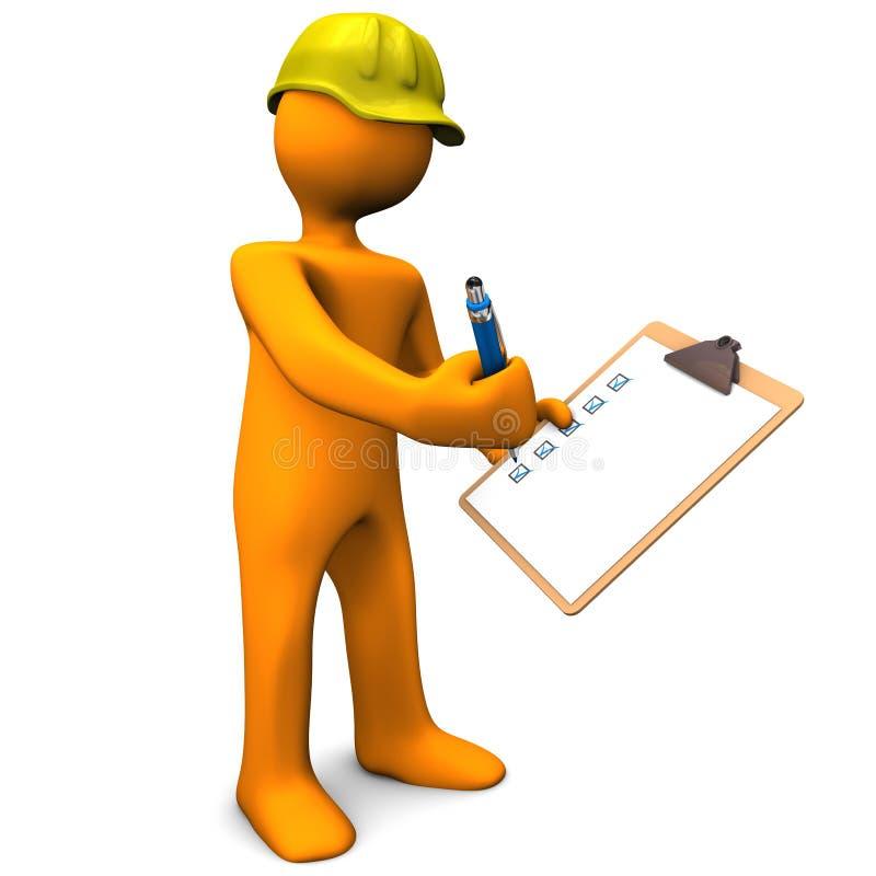 Download Kvalitetskontroll stock illustrationer. Illustration av kontrollista - 27287169