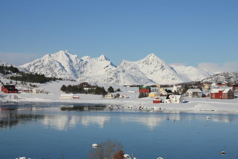Kvalvika. The small village of Kvalvika (bay of whales) in the lofoten islands royalty free stock image