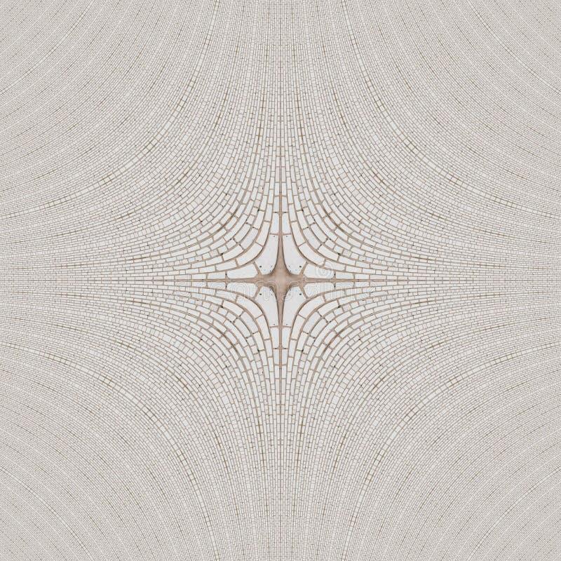 Kvarter f?r abstrakt begrepp f?r tegelplattamodellkalejdoskop ethnic stock illustrationer