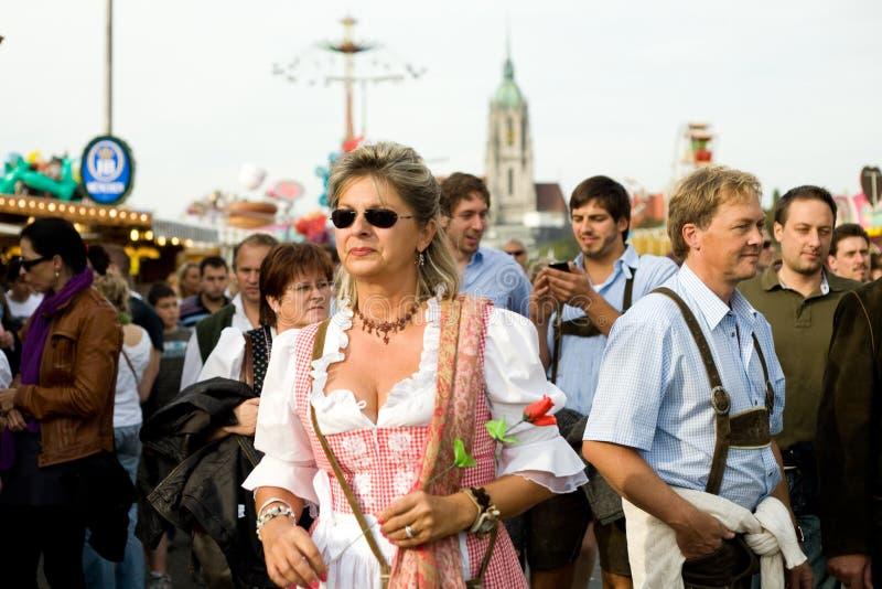 kvinna arkivbild