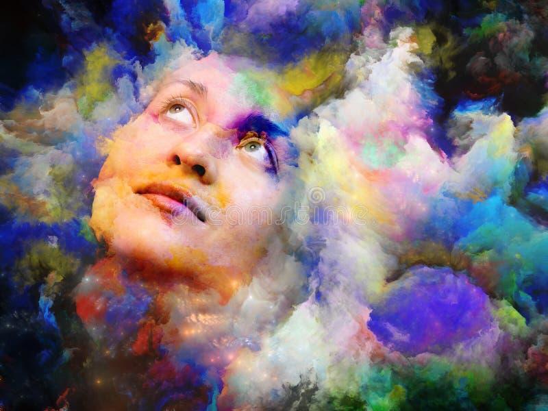 Kvinna av färg royaltyfri fotografi