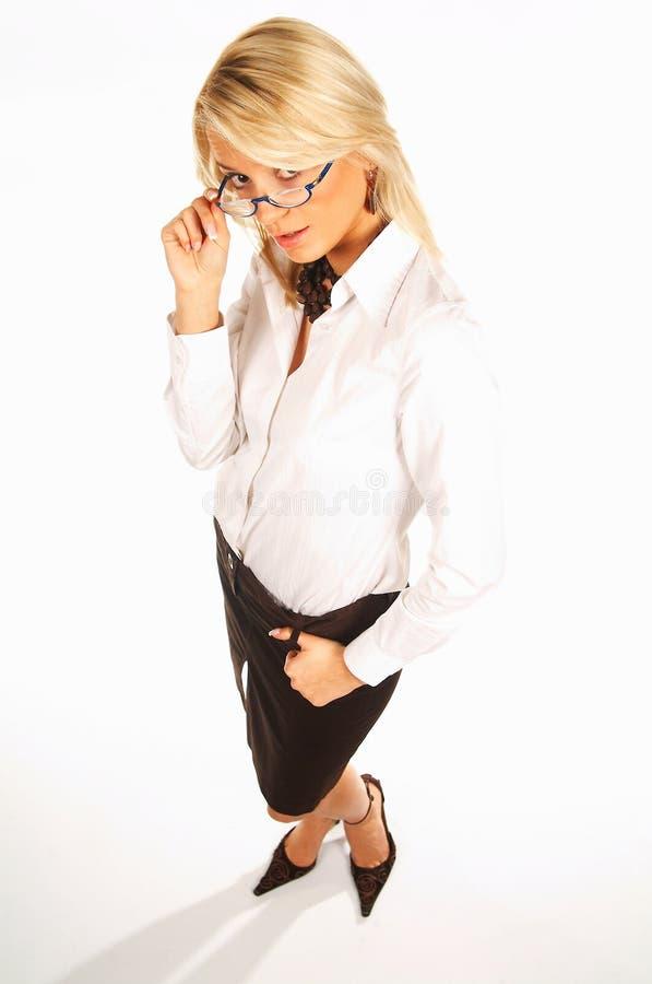 kvinna för 15 affär royaltyfria foton
