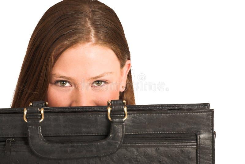 kvinna för 210 affärsgs arkivbild