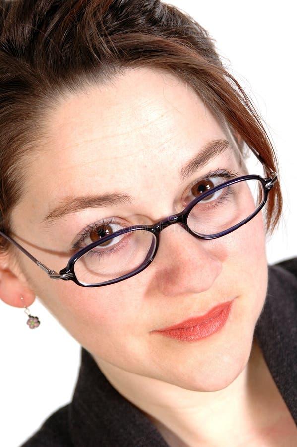 kvinna för 3 affär arkivfoton