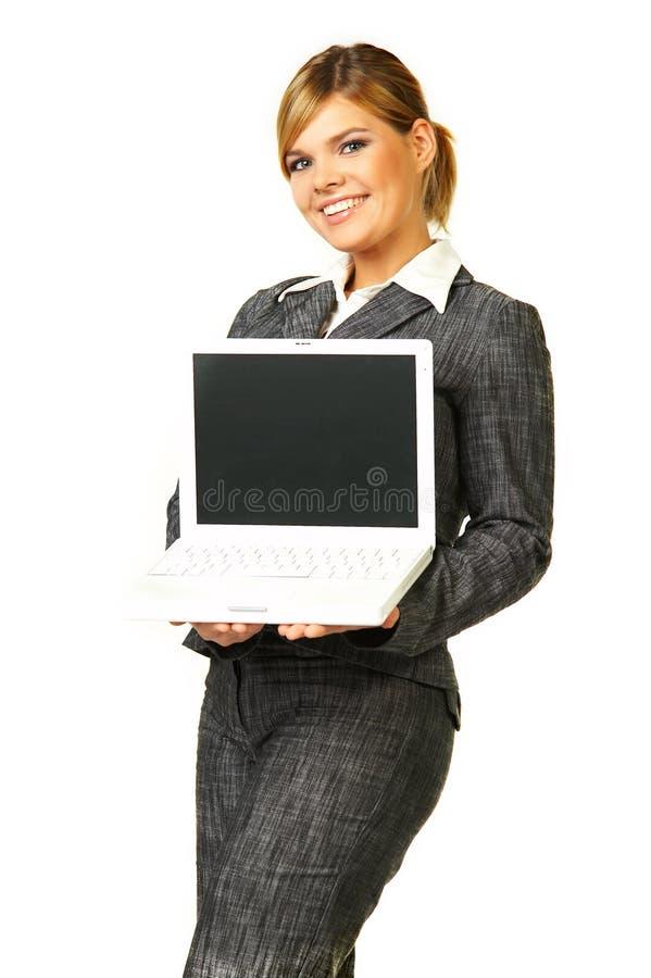 kvinna för 6 affär arkivfoton