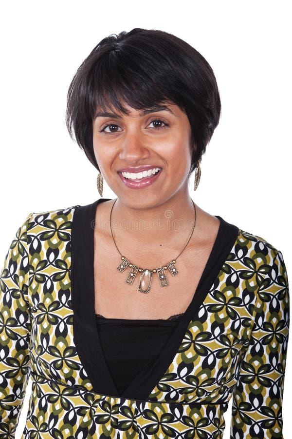 kvinna för blandad race royaltyfria bilder