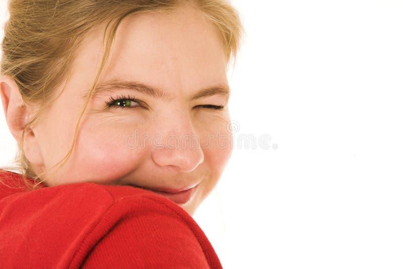 kvinna för blondin 3 arkivfoto