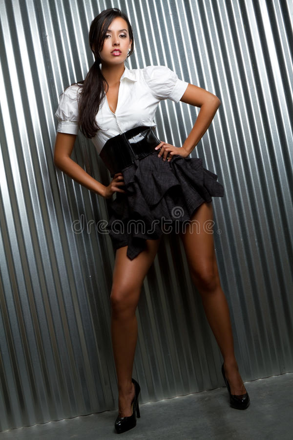 kvinna för modemodell arkivfoton