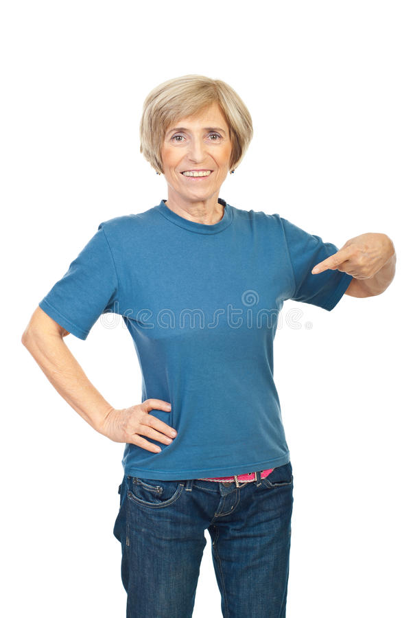 kvinna för skjorta t för skönhet blank hög royaltyfri foto