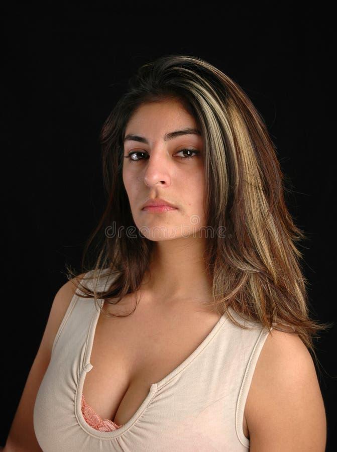 Kvinna För Stående S Royaltyfri Fotografi