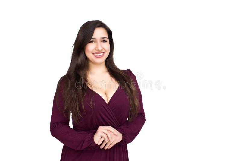 Kvinna i klänning arkivfoton