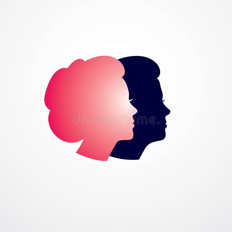 Kvinna som får den begreppsmässiga illustrationen för gamlingår, från kvinna vektor illustrationer
