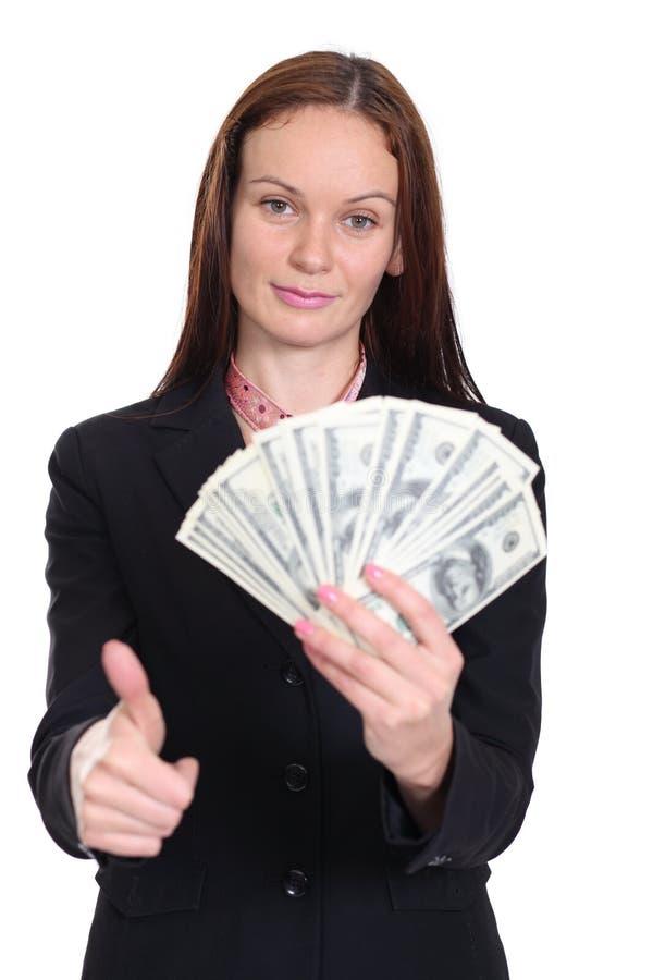 Download Kvinna Som Rymmer En Räkning För Dollar 100 Fotografering för Bildbyråer - Bild av papper, lämpligt: 37347609