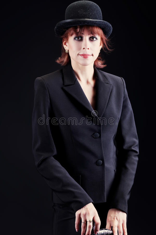 Kvinnaaktris arkivfoto