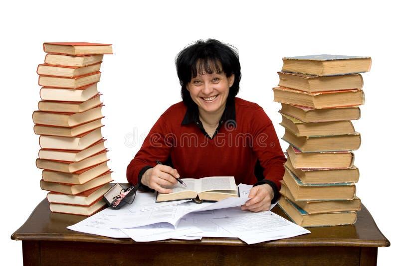kvinnaarbete arkivfoto