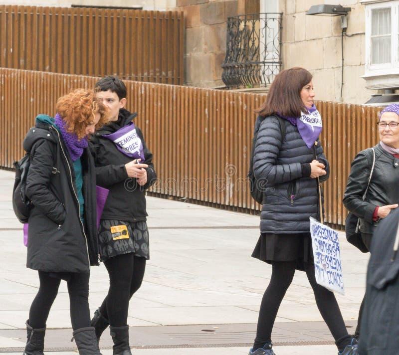 KVINNAVINDICATORS I INTERNATIONELLA KVINNORS DAG royaltyfri fotografi