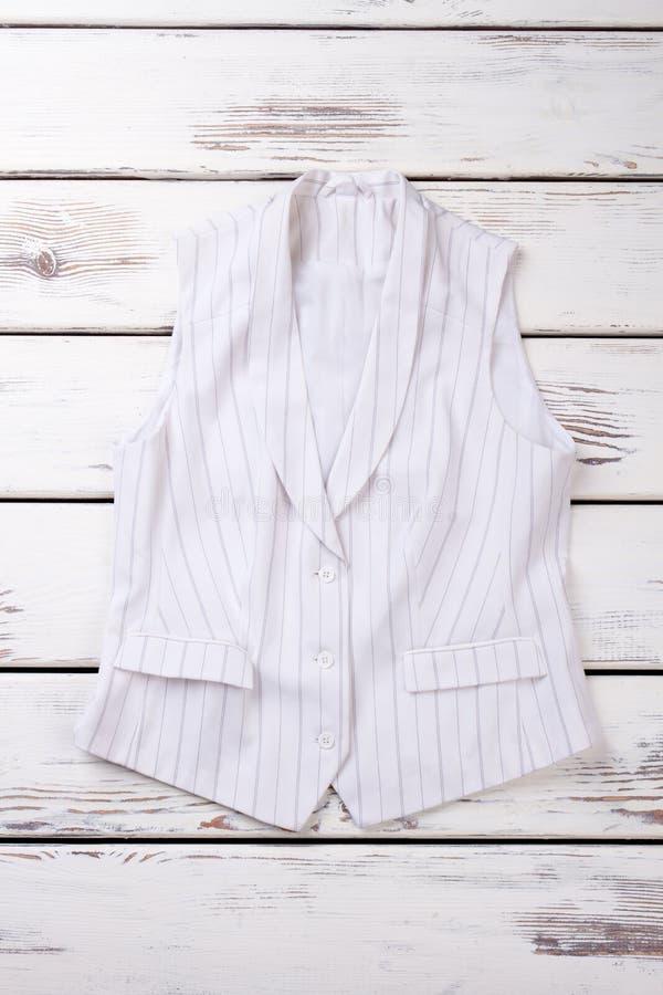 Kvinnlig elegant waistcoat, bästa sikt royaltyfria bilder