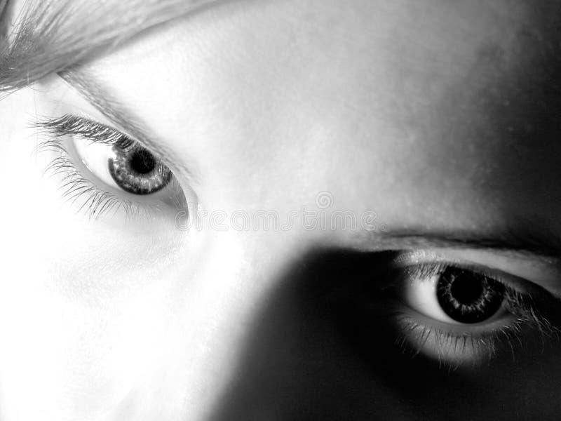 kvinnlig för 01 ögon royaltyfria bilder