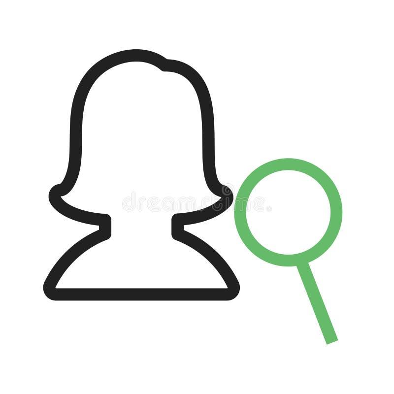 Download Kvinnlig profil för fynd vektor illustrationer. Illustration av bild - 78731865
