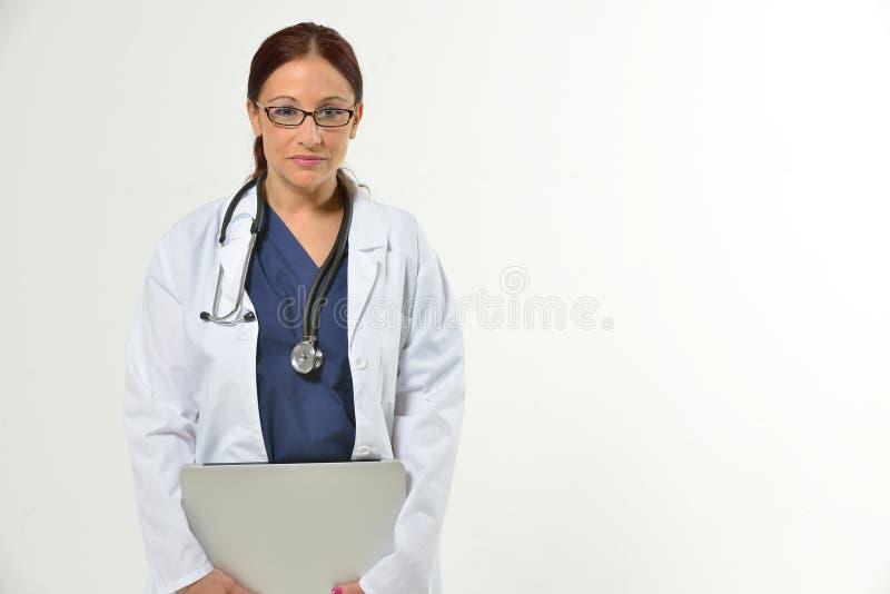Kvinnlig sjukvårdprofessionell arkivbild