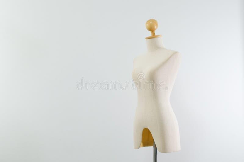 kvinnlig skyltdockakräm arkivbild