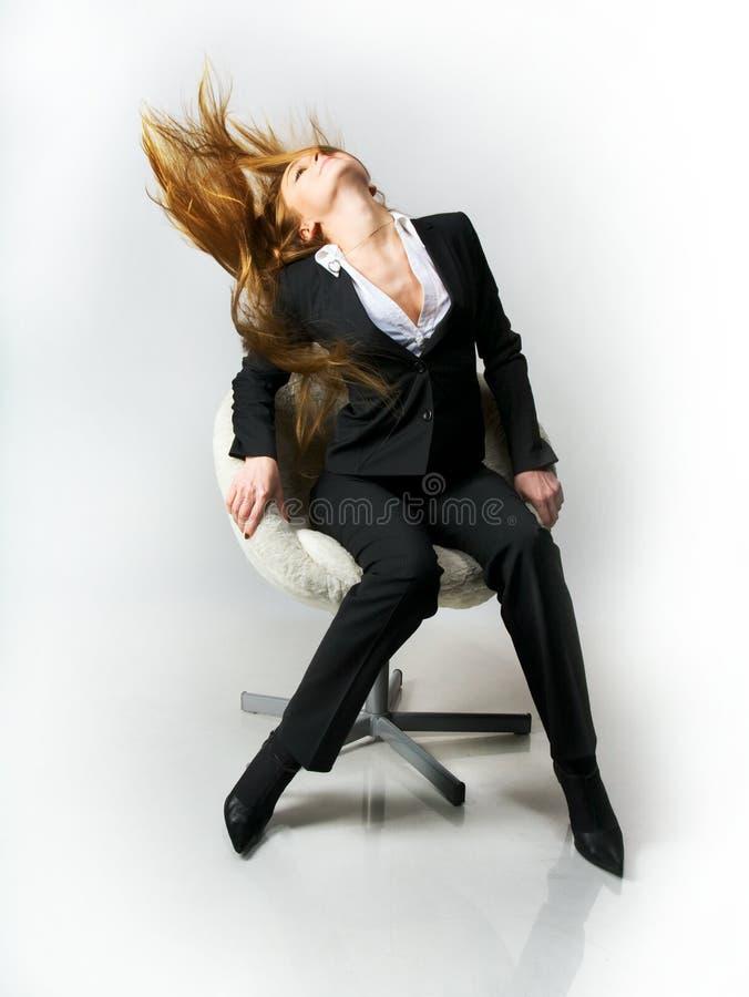 kvinnligchefpauser royaltyfri bild