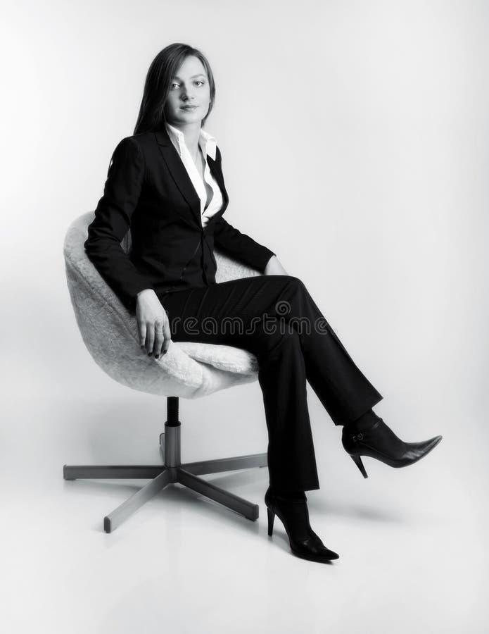 kvinnligchefpauser arkivbild