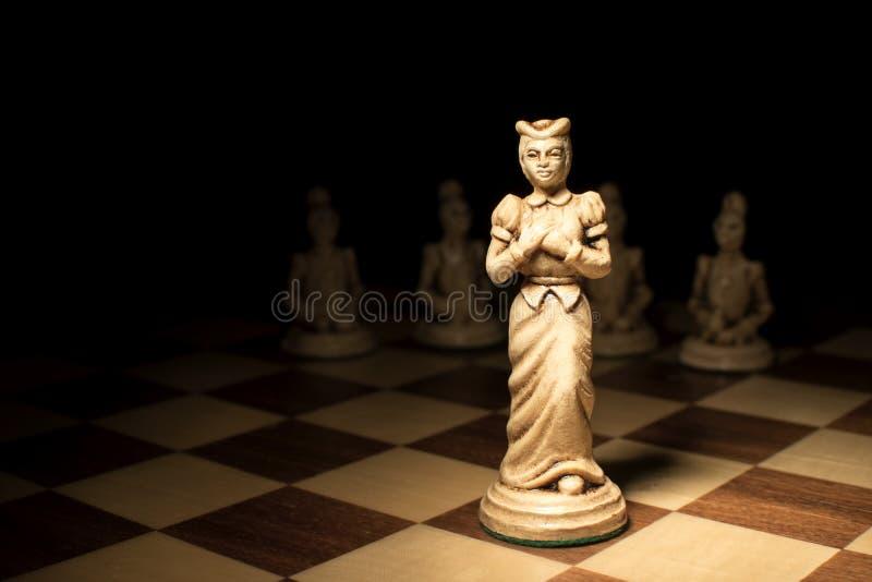 Kvinnligt ledarskap i företaget royaltyfri fotografi