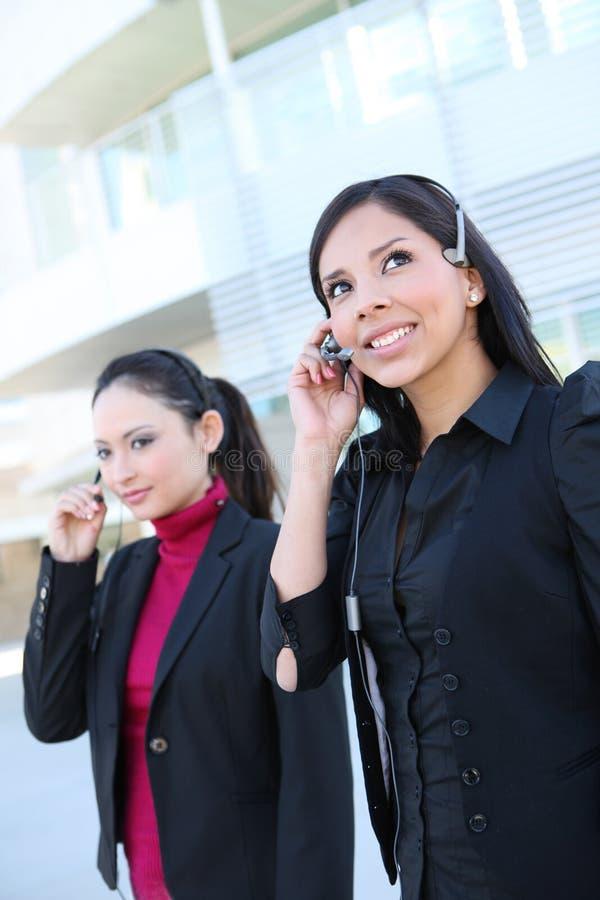 kvinnor för affärskontor royaltyfri foto
