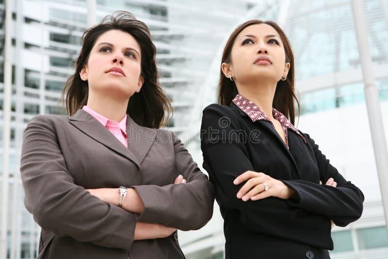 kvinnor för affärskontor arkivbild