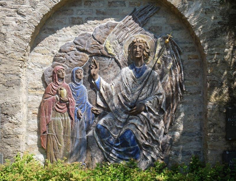 Kvinnor i Kristi Tomb royaltyfria foton