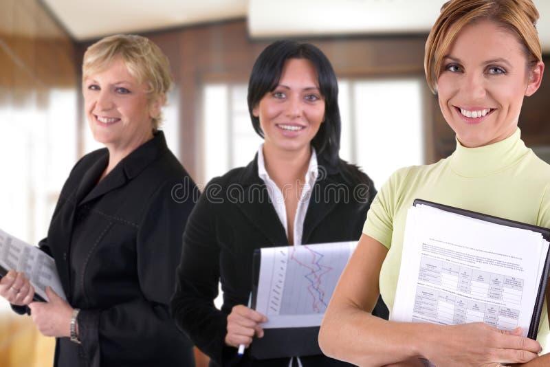 Kvinnor på arbete royaltyfri foto