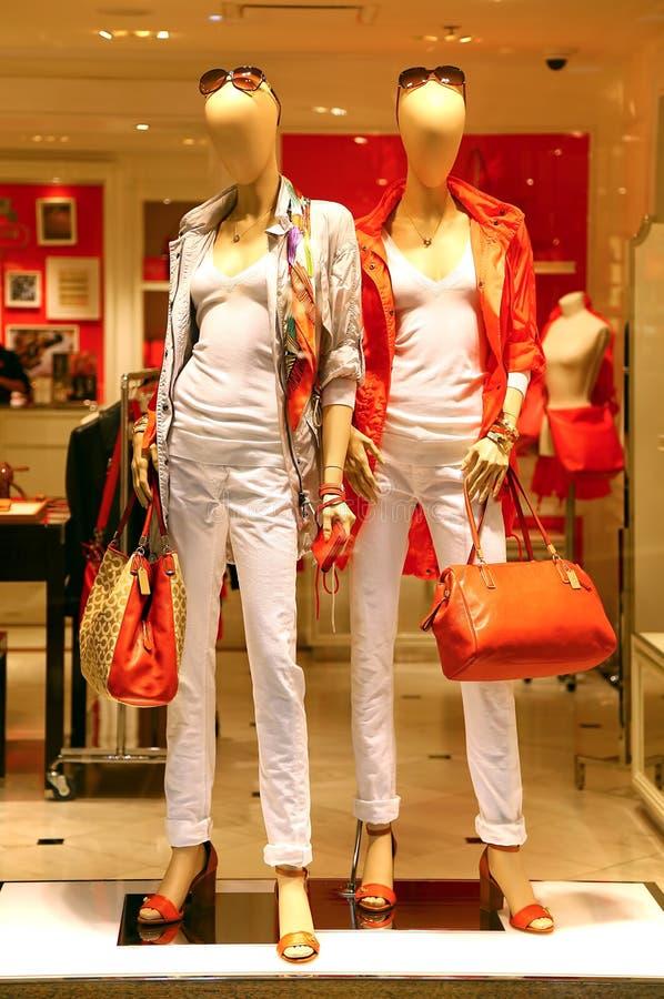 Kvinnors kläder royaltyfria bilder