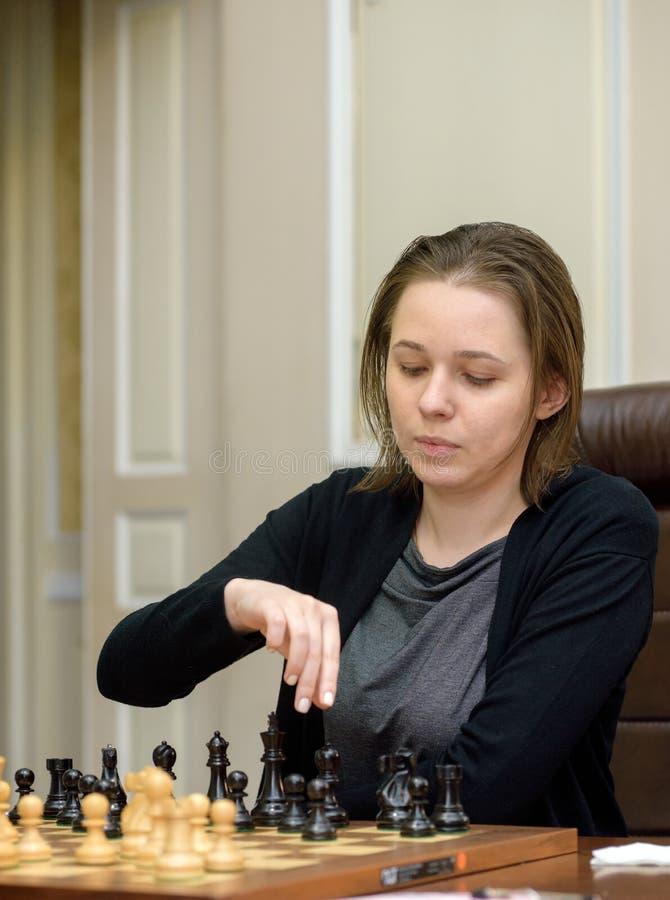 Kvinnors mästerskap för världsschack arkivbilder
