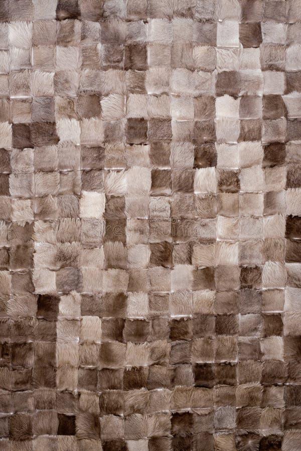 kwadratów tekstury wełna obraz stock