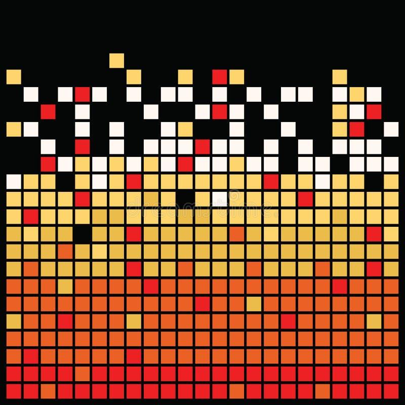 kwadrat czarny tekstura royalty ilustracja