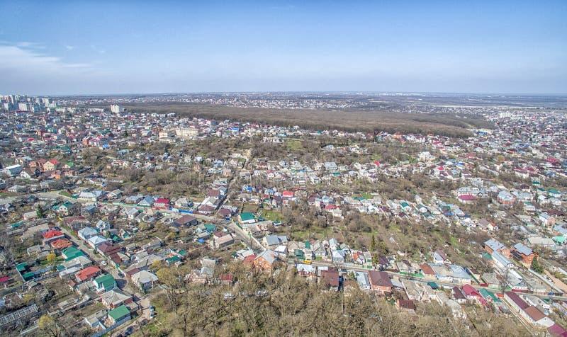 Kwadrat miasto Stavropol Rosja zdjęcia stock