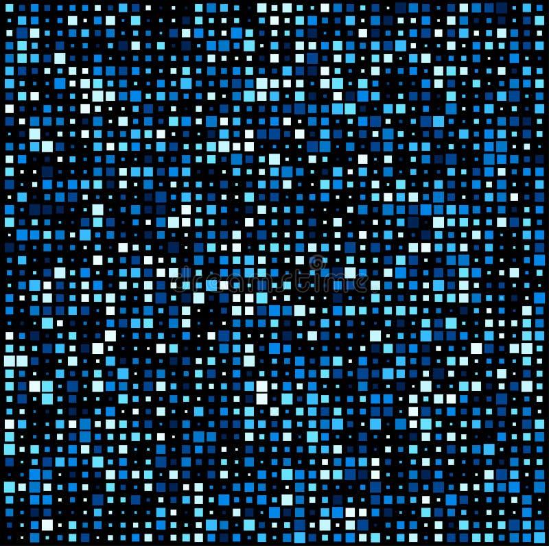 Kwadrat technologii wzoru tło ilustracja wektor