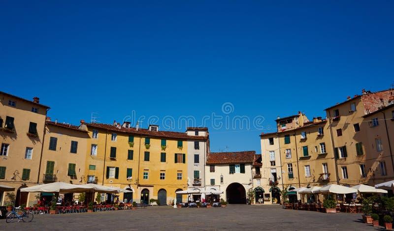 Kwadrat w Lucca obraz royalty free