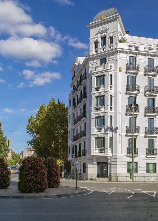 Kwadrat w Madryt fotografia stock