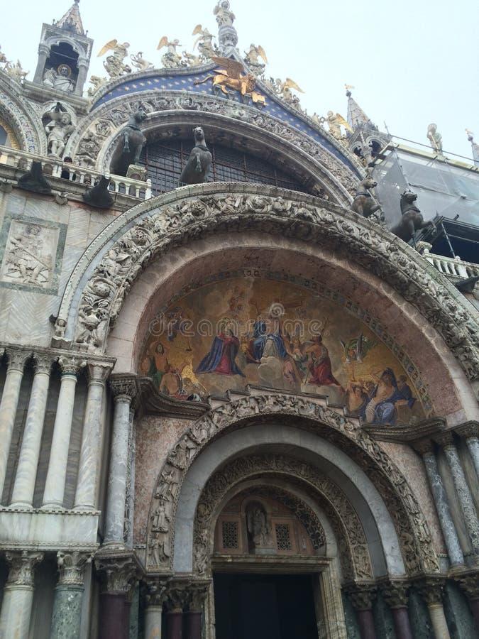 Kwadrat w Wenecja obrazy stock