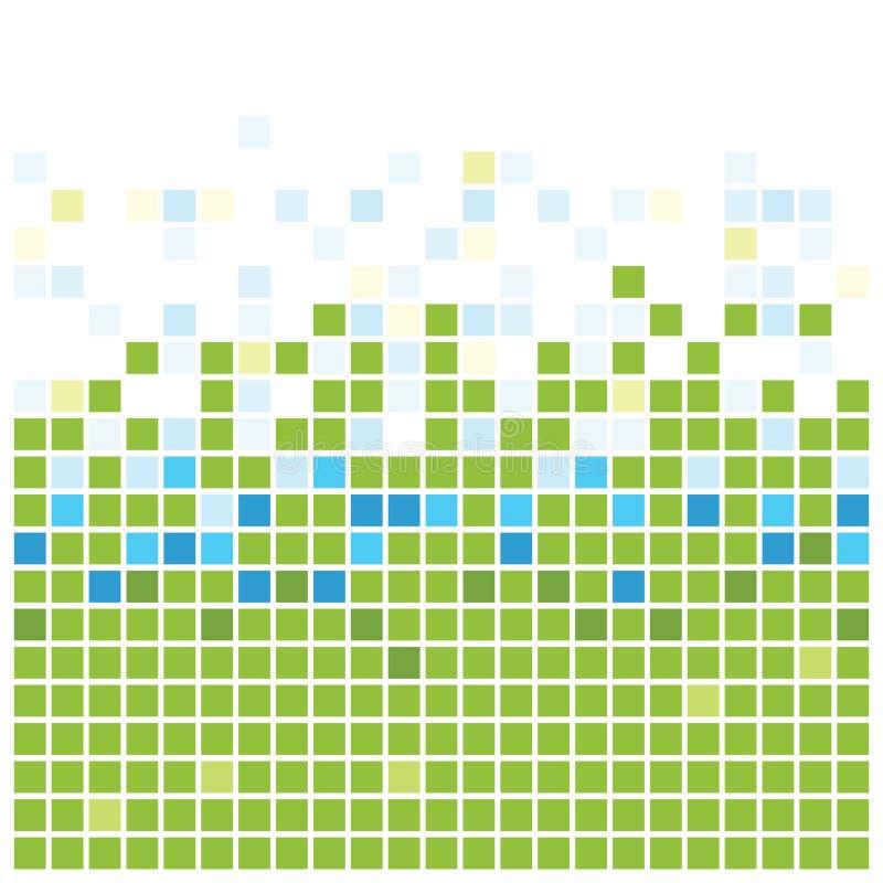 kwadrat zielona tekstura ilustracja wektor