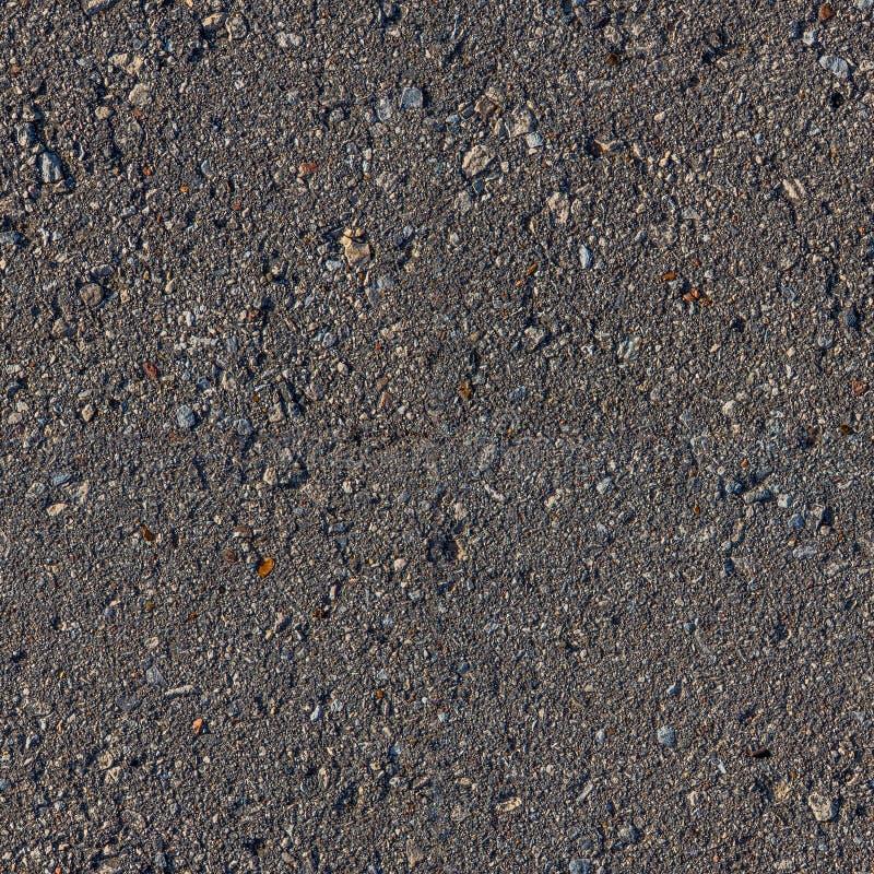 Kwadratowa bezszwowa asfaltowa tekstura zdjęcie royalty free