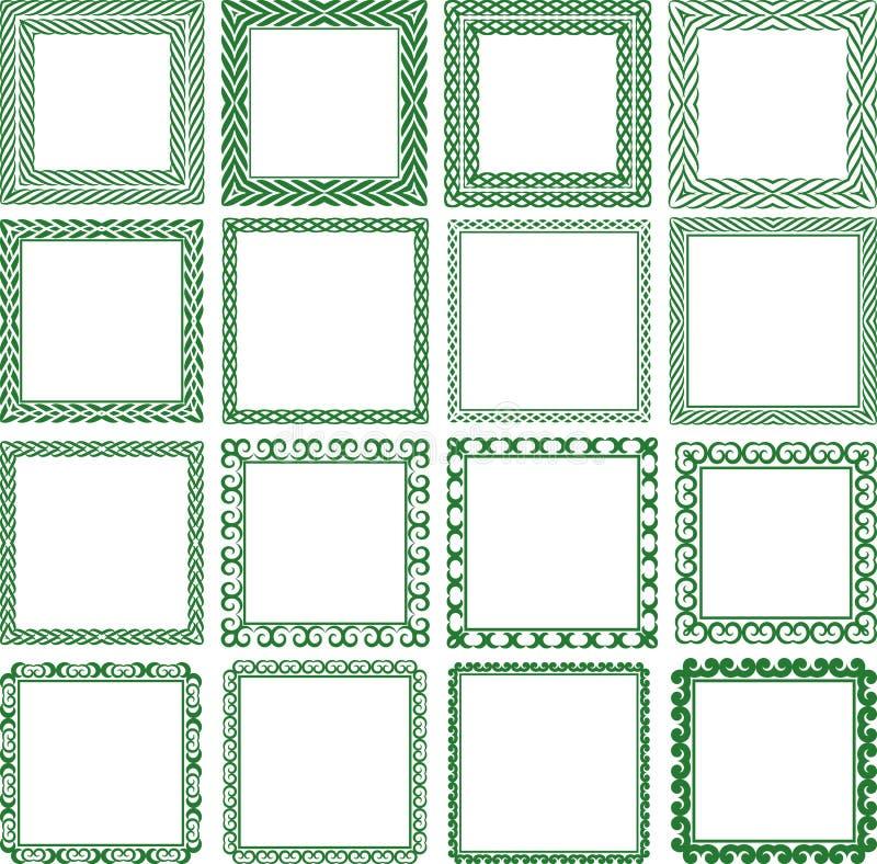 Download Kwadratowa rama ilustracja wektor. Obraz złożonej z ilustracje - 28111215