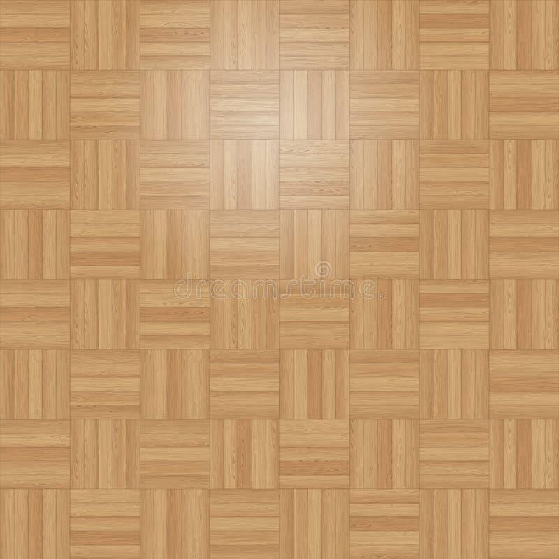 Kwadratowy Dachówkowy Parkietowy royalty ilustracja