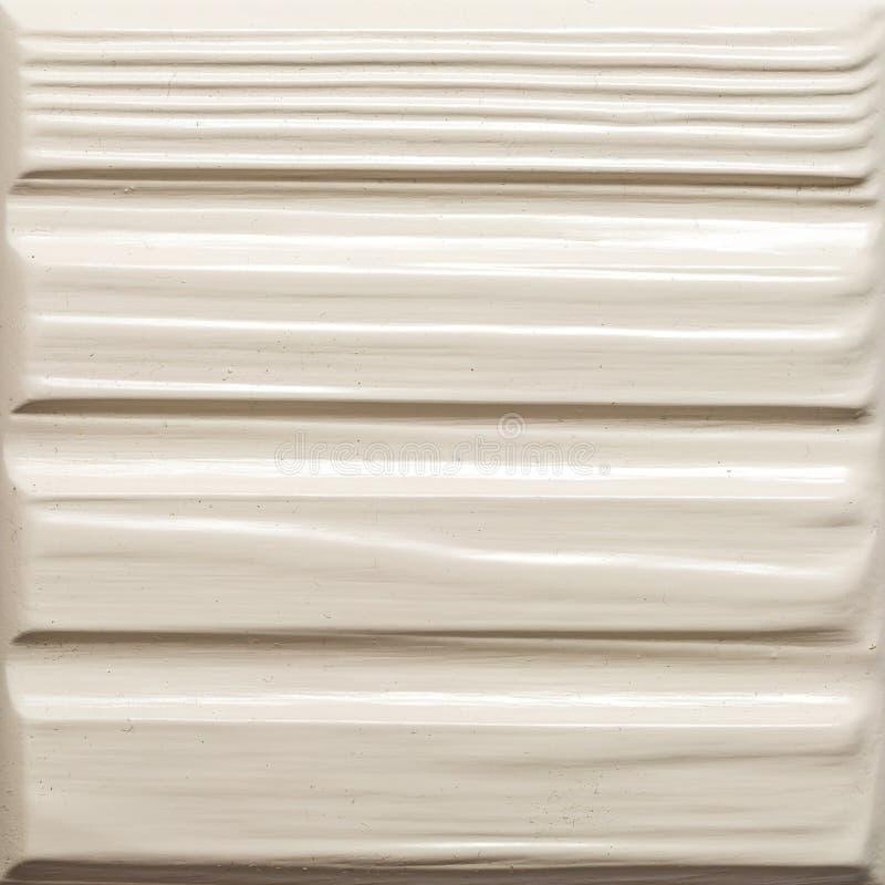 Kwadratowy element drzwiowej dekoracji drewniani drzwi w bielu stylu kolorze dla nowożytnych loft mieszkania własnościowego i wnę obraz royalty free